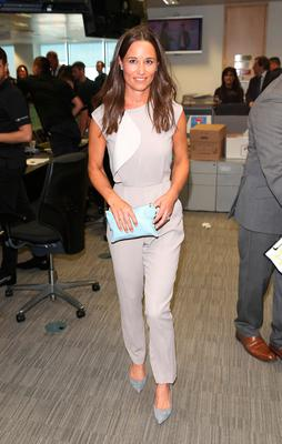 Pippa Middleton attends the BGC Annual Global Charity Day at Canary Wharf on September 12, 2016 in London, England.  (Photo by Tim P. Whitby/Getty Images)