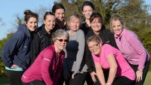 ISPY photographer spotted Emma Wadding, Fiona Allen, Jenny Considine, Therese Donovan, Orla O'Rourke, Catriona Ryan, Margaret Boylan and Pat Allen Dillon pictured at Marlay Park