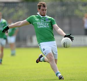 Sean Quigley's converted Fermanagh's penalty in their victory over Wexford