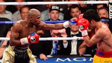"""""""On last Friday night's Off the Ball, we spoke to legendary boxing writer and 'Newark Star-Ledger' columnist Jerry Izenberg about Mayweather-Pacquiao and whether this was boxing's last big night"""" (Getty Images)"""