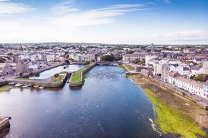 Galway city. Stock picture