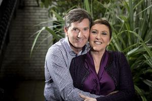 Daniel with his wife Majella, whom he married in 2002. Pic: Mark Condren.