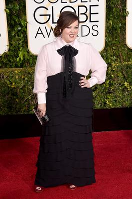 Actress Melissa McCarthy attends the 72nd Annual Golden Globe Awards at The Beverly Hilton Hotel on January 11, 2015 in Beverly Hills, California.  (Photo by Jason Merritt/Getty Images)
