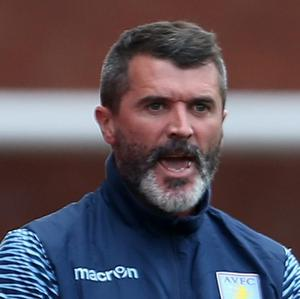Aston Villa's assistant manager Roy Keane during the Barclays Premier League match at The Britannia Stadium, Stoke. Picture: Lynne Cameron/PA Wire.