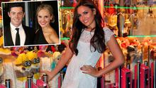 Nadia Forde launching Winter Funderland and (inset) is Rory McIlroy and fiancee Erica Stoll