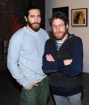 Actor Jake Gyllenhaal and Pioneer Works Center for Arts and Innovation, Dustin Yellin