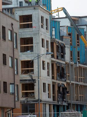 Priory Hall apartments. Photo: Fergal Phillips