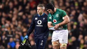 Sean O'Brien was close to retiring after a suffering a nasty hip injury. Photo by Matt Browne/Sportsfile