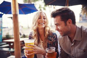 Up to a quarter of people in the UK who are statistically defined as single have an intimate partner - they just live somewhere else. Stock photo