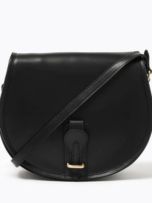 Leather bag, €95 from M&S