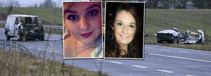 Charmaine Carroll (left) and Niamh Doyle (right), two of the young women killed in the Athy tragedy