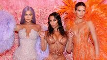 Kylie Jenner, Kim Kardashian West and Kendall Jenner  attend The 2019 Met Gala Celebrating Camp
