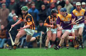 Henry Shefflin in action for Kilkenny against Wexford in the Walsh Cup in 1999. Picture Credit: Ray McManus/SPORTSFILE.