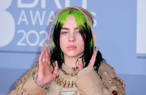 Billie Eilish arriving at the Brit Awards 2020 held at the O2 Arena, London. PA Photo. Picture date: Tuesday February 18, 2020. See PA story SHOWBIZ Brits. Photo credit should read: Ian West/PA Wire