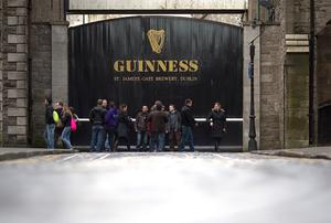 The Guinness Brewery at St James's Gate in Dublin