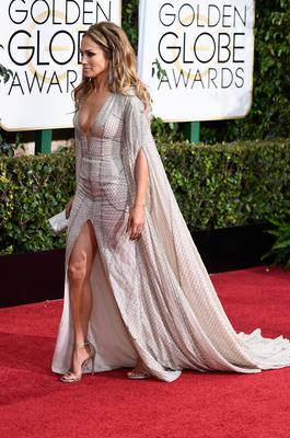 Actress/singer Jennifer Lopez attends the 72nd Annual Golden Globe Awards at The Beverly Hilton Hotel