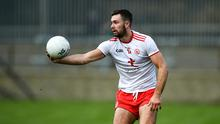Conor McKenna has made a strong start to his Tyrone senior career. Photo by David Fitzgerald/Sportsfile