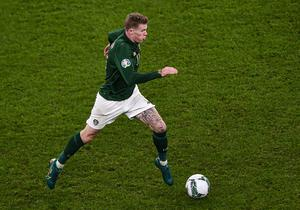 James McClean has questioned the response to abuse he has received during his career. Photo by Ben McShane/Sportsfile