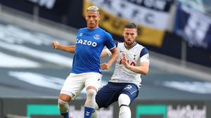 Jose Mourinho questioned the fitness of Matt Doherty after Spurs' defeat to Everton. REUTERS/Catherine Ivill