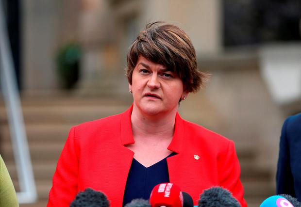 Arlene Foster. Photo: PA