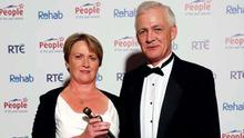 Fionnbar and Elma Walsh, parents of the late Donal Walsh