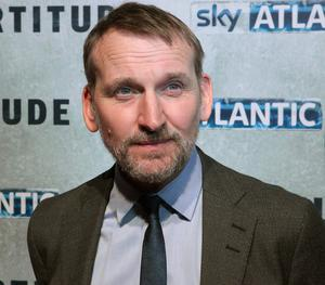 Actor Christopher Eccleston of the new Sky Atlantic drama Fortitude at the Dublin premiere of the series at The Mansion House,Dublin. Photo: Brian McEvoy