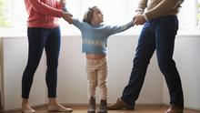 When parents separate, it can be difficult for children caught in the middle