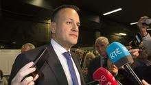 OUTLINE: Leo Varadkar. Photo: Tony Gavin