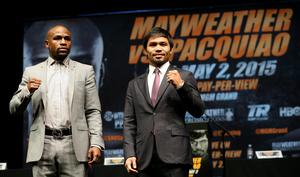 Floyd Mayweather and Manny Pacquiao have agreed to take part in a U.S. Anti-Doping Agency Olympic-style testing program ahead of their May 2 mega-encounter in Las Vegas