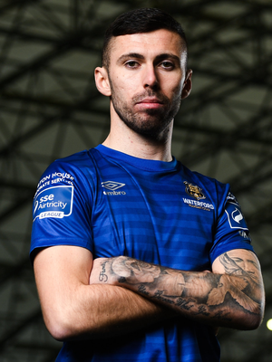 Robbie McCourt is hoping his move to Waterford works out