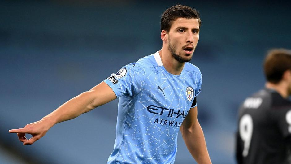 Revelation: Ruben Dias lives and breathes football '24 hours a day' and has 'given Manchester City something special', according to Pep Guardiola. Photo: Getty Images