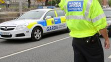 Garda Traffic Corps. Stock picture