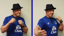Sylvester Stallone will be at Goodison Park tonight