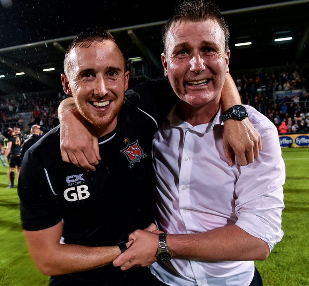 The success of Stephen Kenny and Graham Byrne at Dundalk has been achieved by outstanding management and local goodwill Photo: David Maher/Sportsfile