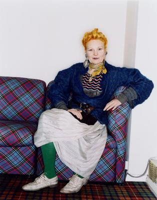 British fashion designer Vivienne Westwood (Photo by Polly Borland/Hulton Archive/Getty Images)