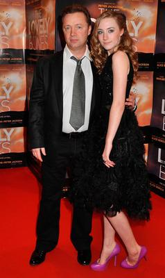 Paul Ronan and Saoirse Ronan at 'The Lovely Bones' Irish Premiere in 2010