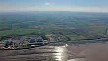An aerial view of the Hinkley Point site. Photo: EDF Energy/PA Wire