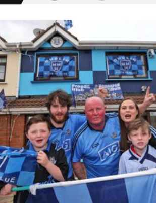 My dubs mad family in Palmerstown Credit: Shauna White via Twitter
