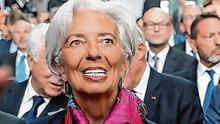 Christine Lagarde, former managing director of International Monetary Fund (IMF) and incoming president of the European Central Bank (ECB). Photo: Alex Kraus/Bloomberg
