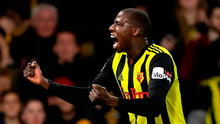 Abdoulaye Doucoure of Watford celebrates after scoring. Photo: Getty