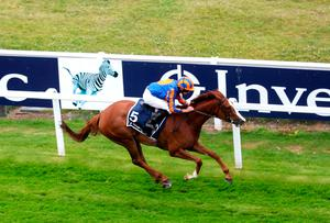 Love ridden by Ryan Moore wins the Investec Oaks at Epsom Racecourse. Photo: David Davies/PA Wire