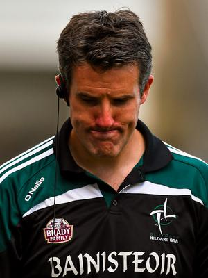 Kildare manager Jason Ryan took some comfort from his side's statistical record during the match