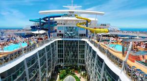 There will be water slides and zip lines to keep passengers occupied