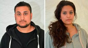 Thames Valley Police undated handout file photo of Mohammed Rehman (left), 25, who has been sentenced at the Old Bailey to life with a minimum of 27 years for plotting a terror attack on London to coincide with the 10th anniversary of the July 7 bombings, and his ex-wife Sana Ahmed Khan, 24, who helped to fund the terror plot, who was sentenced to life imprisonment with a minimum term of 25 years