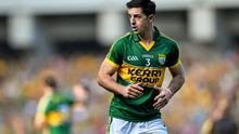 Kerry star Aidan O'Mahony's All-Ireland final boots fetched a remarkable €28,000 at auction for the Home from Home facility in Killarney for children with special needs. Photo: Ramsey Cardy / SPORTSFILE