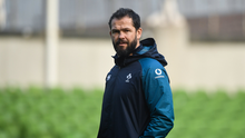 16 November 2018; Defence coach Andy Farrell during the Ireland Rugby Captain's Run at the Aviva Stadium in Dublin. Photo by David Fitzgerald/Sportsfile