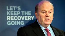 Beware: The latest round of public sector pay talks may have an adverse effect on the recovering economy, the performance of which has given Michael Noonan reason to feel a little bullish. Photo: Tony Gavin