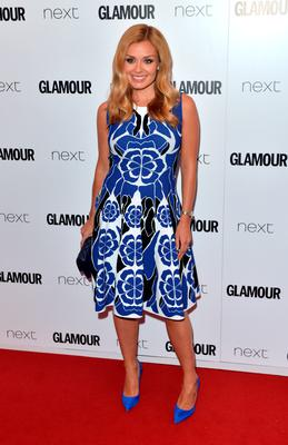 Katherine Jenkins attends the Glamour Women Of The Year Awards at Berkeley Square Gardens on June 2, 2015 in London, England