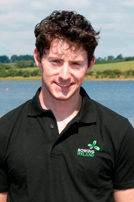 TOP CLASS: UCC rower Ronan Byrne. Photo: John Sheehan