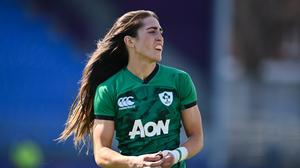 Amee-Leigh Murphy Crowe will make her first start for Ireland against Italy. Photo by Sam Barnes/Sportsfile